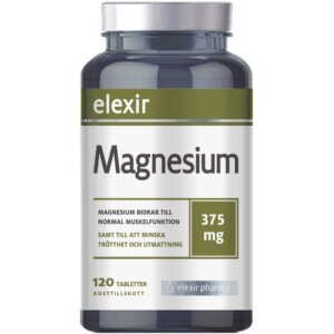 Magnesium 375mg, 120 tabletter